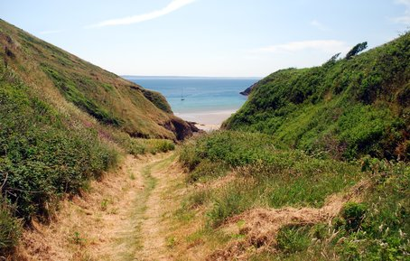 Picture: The Path to Porthmynawyd